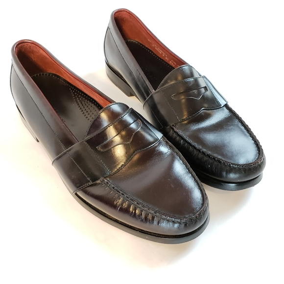 Cole Haan Other - Cole Haan City | Black Moc Toe Penny Loafers Sz 10